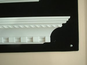 crown moulding patterned